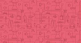 粉色路线图纹理网页背景
