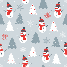 圣诞节圣诞雪人背景素材