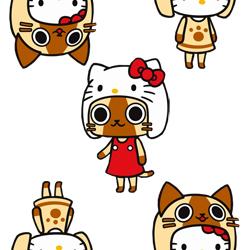 hellokitty小猫女网页背景