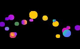 电商漂浮圆球元素