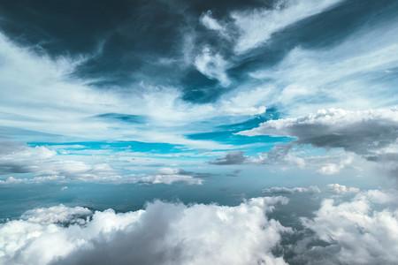 大气的云层