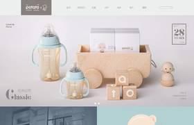 小土豆母婴用品天猫网页设计