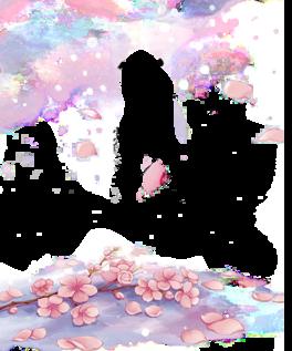 梅花花瓣png素材