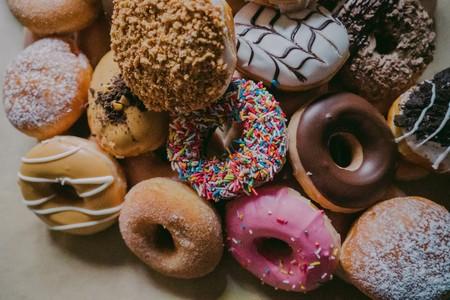 各种口味的甜甜圈