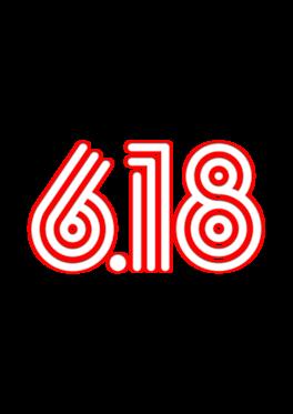 618线条字体png素材
